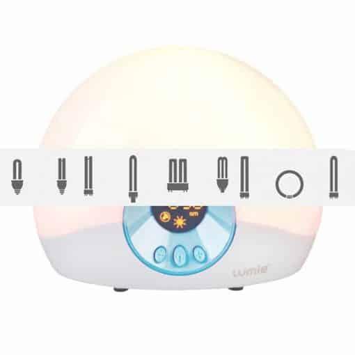 Ampoule de rechange pour simulateur d'aube Lumie Starter 30 Bodyclock