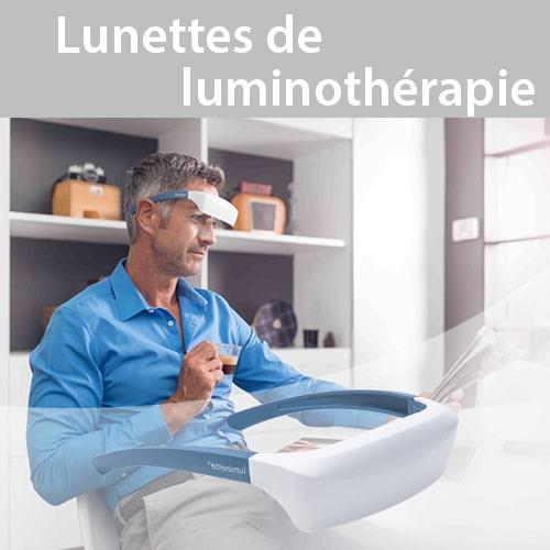 Boutique : Lunettes de luminothérapie