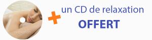 CD de relaxation offert pour les lampes de luminothérapie et simulateurs d'aube