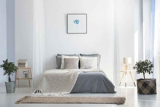 Conseil 4 pour bien dormir : aérer la chambre à coucher avant de dormir et diminuer la température