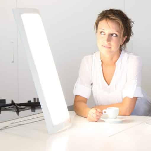 Lampe de luminothérapie Dayvia white 072 g1