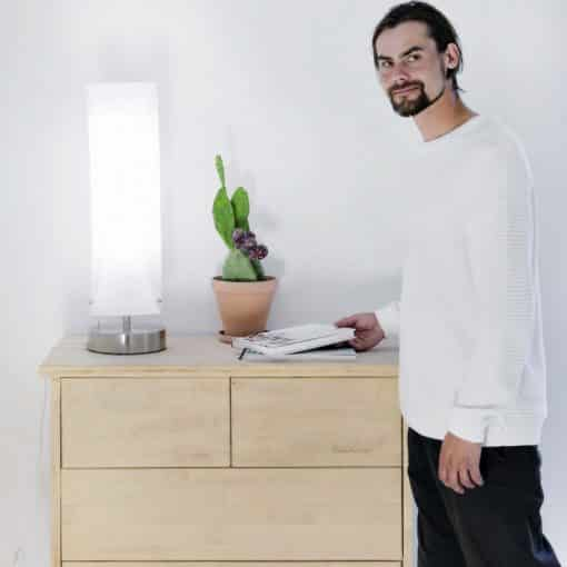 Lampe de luminothérapie innolux aurea 2x36w innosol g1