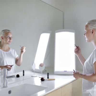 Lampe de luminothérapie innolux lucia 2x55 DIM mega bright innosol g1