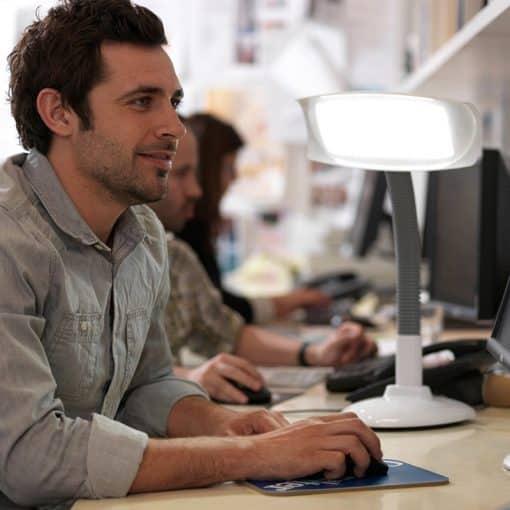 Lampe de luminothérapie Lumie Desklamp g1