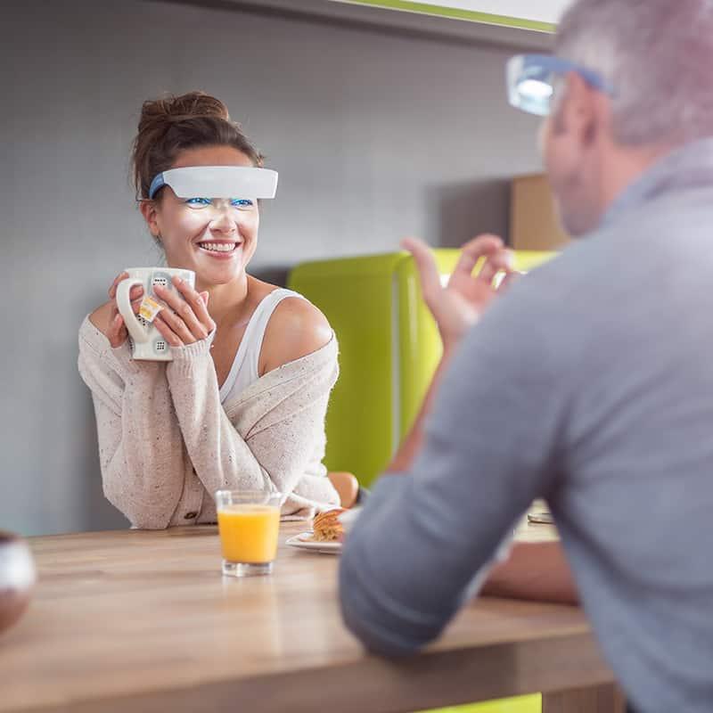 lunettes de luminoth rapie luminette 2 nouvelle version lucimed. Black Bedroom Furniture Sets. Home Design Ideas