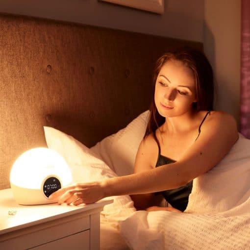 Réveil lumière simulateur d'aube Lumie Spark 100