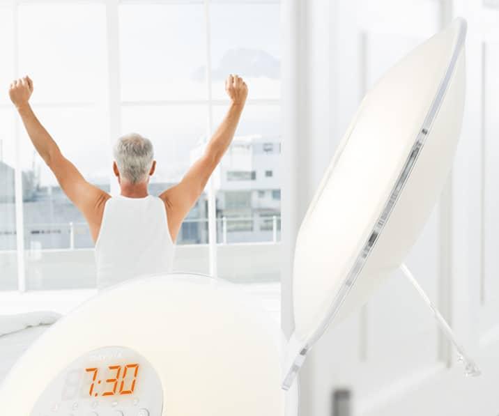 """Toutes les études cliniques et médicales sur le simulateur d'aube """"éveil lumière"""" appelé aussi réveil par la lumière"""